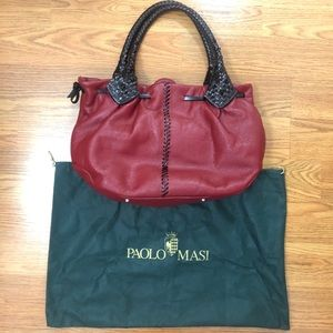 Paolo Masi Italian designer leather purse